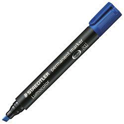 Marker permanentni 2-5mm Lumocolor Staedtler 350-3 plavi