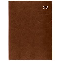 Rokovnik A4 Print Flex 781 smeđi!!