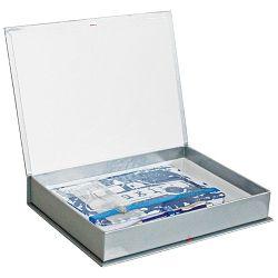 Set poklon notes Lanybook 14x21cm Urban Hero taxi  plavi + olovka kemijska Poly Ball t.plava Faber!!