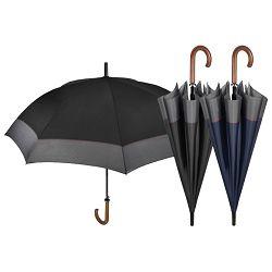 Kišobran automatik s drvenom drškom Time-golf Perletti 26005 sortirano