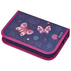 Pernica puna 1zip 2preklopa Butterfly dreams Herlitz 50008339