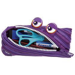 Pernica vrećica/pravokutna Wildlings Purple Zipit ZTM-WD-PCA ljubičasta
