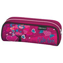 Pernica vrećica/pravokutna Cute Love Connect roza