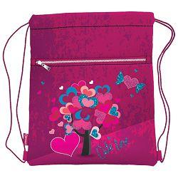 Vrećica za tjelesni Cute Love Connect roza