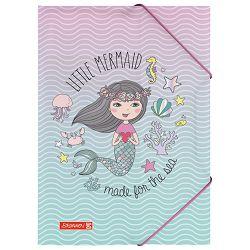 Fascikl klapa s gumicom pp A4 Mermaid Brunnen 10-41604 642
