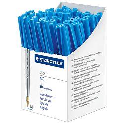 Olovka kemijska Stick 430 M Staedtler 430M-3CP5 plava-KOMAD (prodaja na pakiranje od 50kom)