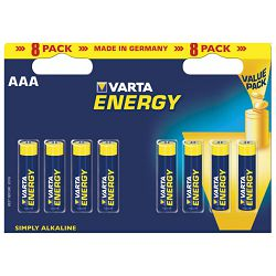 Baterija alkalna 1,5V AAA Energy pk8 Varta LR03