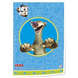 Blok risaći A4 75L 70g Ice Age Sid Herlitz 50004928!!