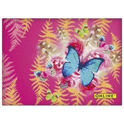 Blok samoljepljiv 2 komada+5 zastavica u korici Fantasy Garden Online 04059/6!!