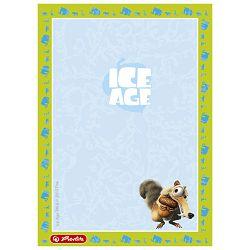 Blok za bilješke A6 čisti 50L Ice Age Herlitz 50004935!!