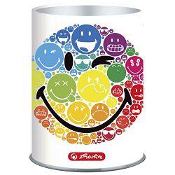 Čaša za olovke metalna Smiley Herlitz 50002108