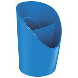 Čaša za olovke pvc Vivida Esselte 623943 plava