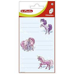 Etikete školske papir konji Herlitz 830281 blister