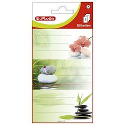 Etikete školske papir srca/kamen Herlitz 838821 blister