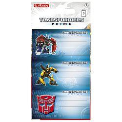 Etikete školske papir Transformers Herlitz 11291614!!