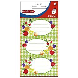 Etikete za kućanstvo 3L voće2 Herlitz 11296373