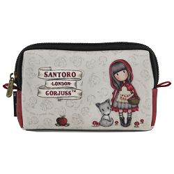 Novčanik za sitan novac 1zip Little Red Riding Hood Gorjuss 379GJ18