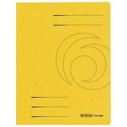 Fascikl klapa karton A4 Herlitz 10843944 žuti