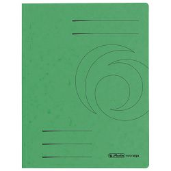 Fascikl klapa karton A4 Herlitz 10843951 zeleni
