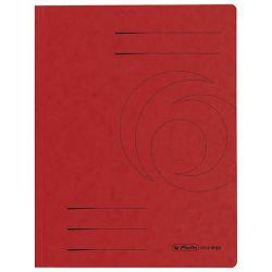 Fascikl klapa karton A4 Herlitz 10843969 crveni