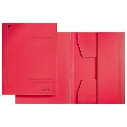 Fascikl klapa prešpan karton A4 Juris Leitz 39240025 crveni