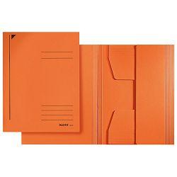 Fascikl klapa prešpan karton A4 Juris Leitz 39240045 narančasti