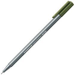 Flomaster fineliner 0,3mm Triplus Staedtler 334-57 maslinasto zeleni