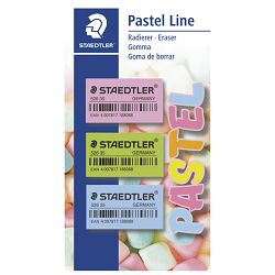 Gumica Pastel Line pk3 Staedtler 52635PBK3 blister