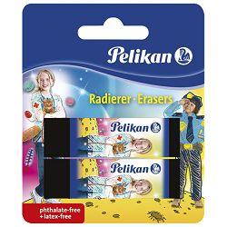 Gumica plastična pk2 AB20 Pelikan 622217 crna blister!!