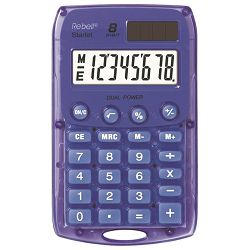 Kalkulator komercijalni  8mjesta Rebell Starlet Sharp ljubičasti!!