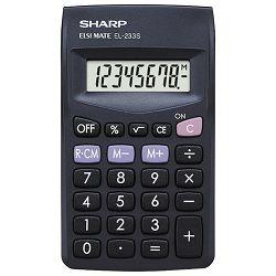 Kalkulator komercijalni  8mjesta Sharp EL-233SBBK blister