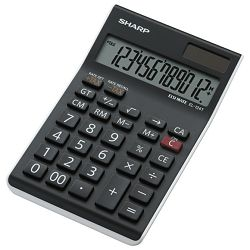 Kalkulator komercijalni 12mjesta Sharp EL-124TWH