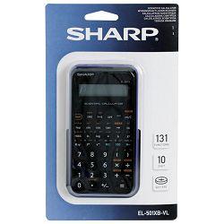 Kalkulator tehnički 10+2mjesta 131 funkcija Sharp EL-501XBVL ljubičasti