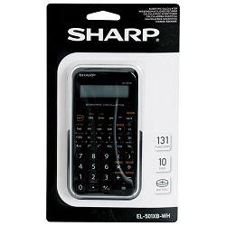 Kalkulator tehnički 10+2mjesta 131 funkcija Sharp EL-501XBWH bijeli