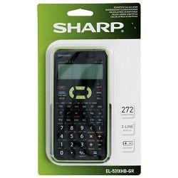 Kalkulator tehnički 10+2mjesta 272 funkcije Sharp EL-531XHBGR zeleni