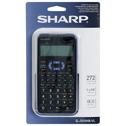 Kalkulator tehnički 10+2mjesta 272 funkcije Sharp EL-531XHBVL ljubičasti