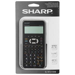 Kalkulator tehnički 10+2mjesta 272 funkcije Sharp EL-W531XHBSL srebrni!!