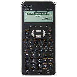 Kalkulator tehnički 10+2mjesta 335 funkcija Sharp EL-W531XH-SLC srebrni!!
