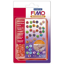 Kalup za modeliranje ABC/123 Fimo Staedtler 872507 blister