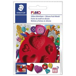 Kalup za modeliranje Srca Fimo Staedtler 8725 23 blister