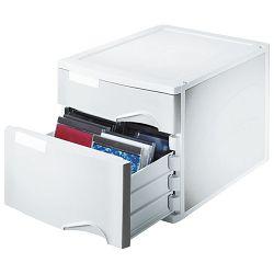 Kutija s  2 ladice set Leitz 52880085 siva!!