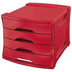 Kutija s  4 ladice Vivida Esselte 623960 crvena