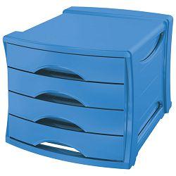 Kutija s  4 ladice Vivida Esselte 623961 plava