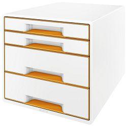 Kutija s  4 ladice Wow Cube Leitz 52130044 narančasta!!