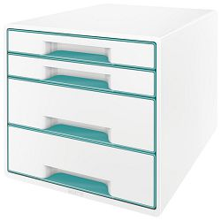 Kutija s  4 ladice Wow Cube Leitz 52130051 tirkizna