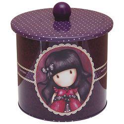 Kutija ukrasna metalna s poklopcem Ladybird Gorjuss 513GJ01