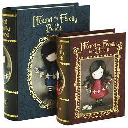 Kutija ukrasna pk2 I Found my Family in a Book Gorjuss 411GJ07!!
