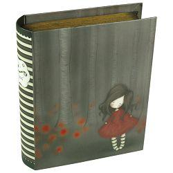 Kutija ukrasna s karticama za poruke Poppy Wood Gorjuss 238EC06