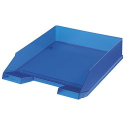 Ladica za spise classic Herlitz 10493716 prozirno plava!!