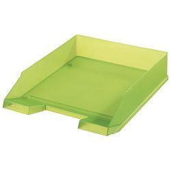 Ladica za spise classic Herlitz 10653723 prozirno svijetlo zelena!!